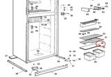 Dometic Shelf- Plastic 2931117044 (fits RM 2611)