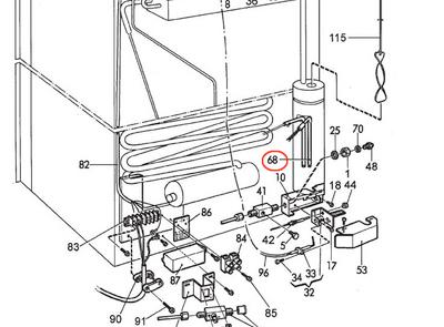 Dometic AC Heating Element 3850644455