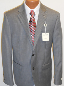 Men's Lauren by Ralph Lauren Stripe Suit - Grey