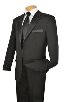Men's Exquisite Tuxedo - Black