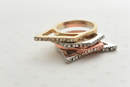 4 Set Stackable Rings