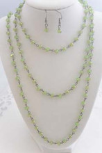 Smoky Crystal Set Green