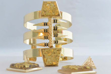 Cleopatra Cuff and Earrings Set