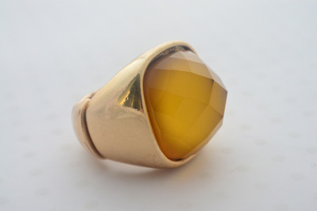Mustard Dome Rings