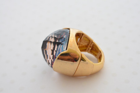 Dome Leopard Ring