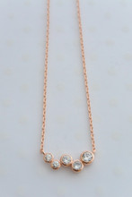 Eternity Necklace in Rose Gold