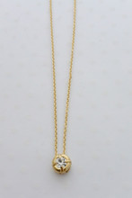 The Engagement Necklace in Gold