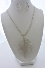 The Real Fallen Leaf Set in Silver
