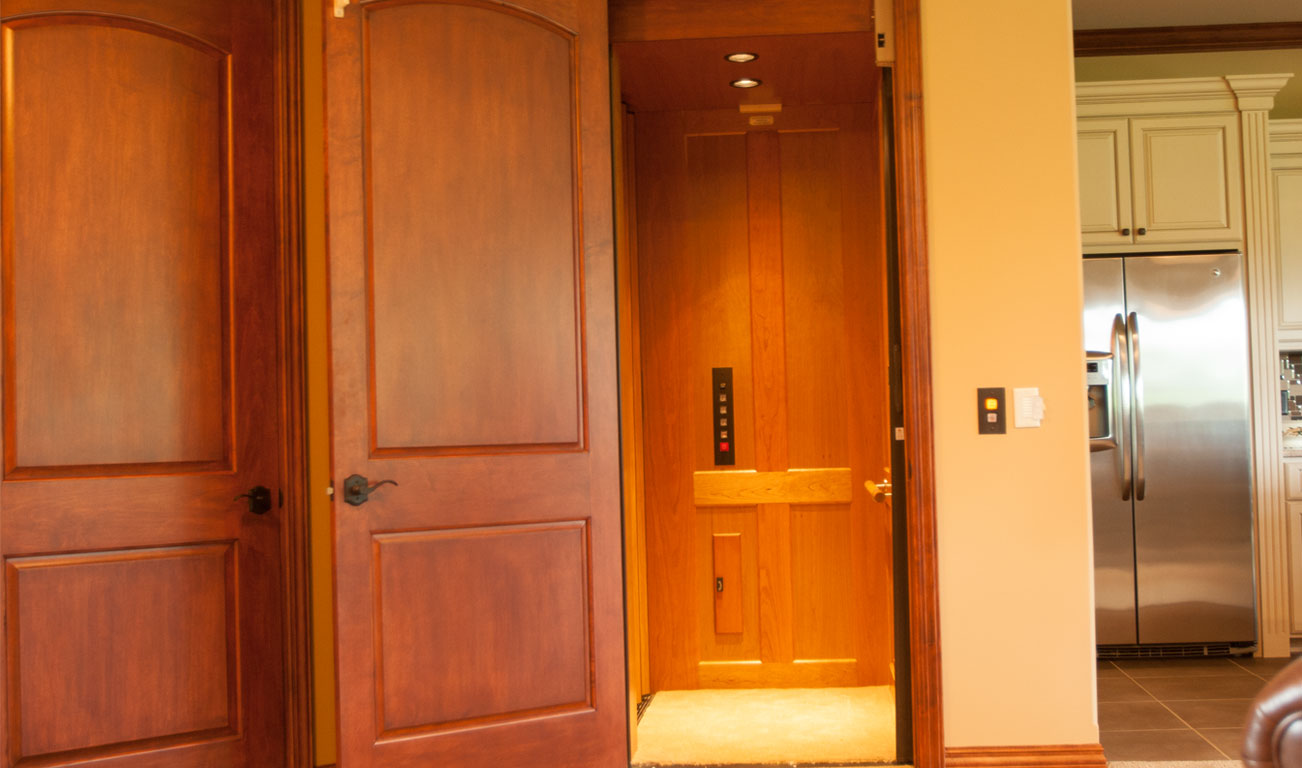 Ael inc access elevator lifts home elevators for Home elevator kits