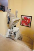 Bruno Electra-Ride III - Custom Curved Rail Stair Lift