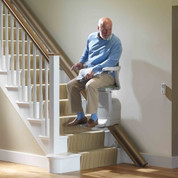 With sensible safety features, this stairlift is a practical way to enhance your peace-of-mind.