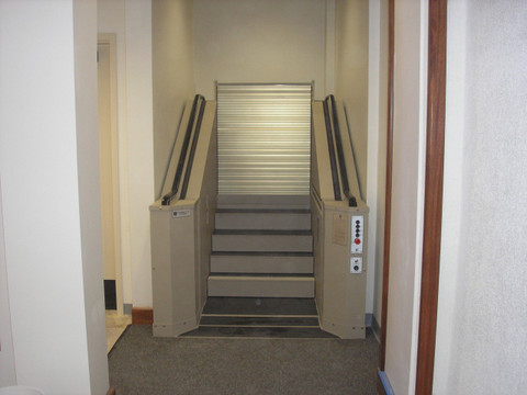 AccessStair Convertible Stairway/Wheelchair Lift