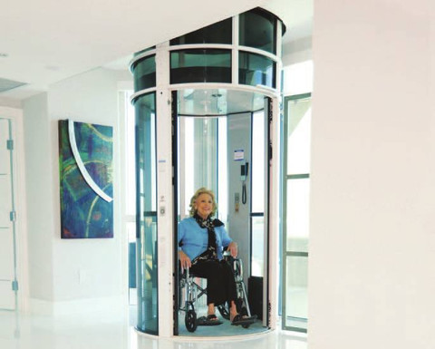 The PVE52 allows for easy wheelchair access and can transport up to 3 persons at a time