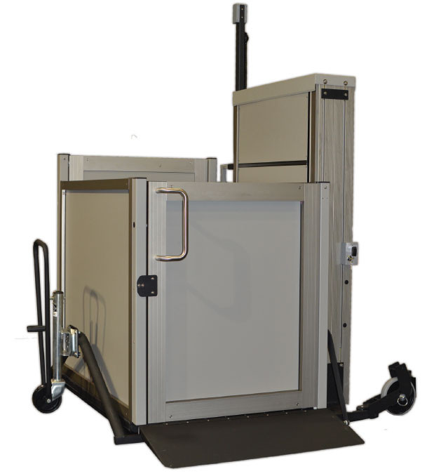 Garaventa genesis staage portable wheelchair lift for Garaventa lift