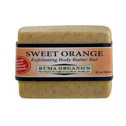 Sweet Orange Exfoliating Body Butter Bar