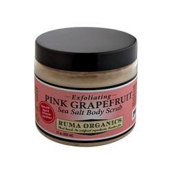 Pink Grapefruit Exfoliating Sea Salt Body Scrub