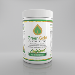 This all-in-one nutritional formula from Green Gold Nutrition is considered the most natural, powerful, comprehensive, synergistic, bio-available, effective and economical supplement in the world!