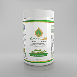 This all-in-one (naturally flavored) nutritional formula from Green Gold Nutrition is considered the most natural, powerful, comprehensive, synergistic, bio-available, effective and economical supplement in the world!