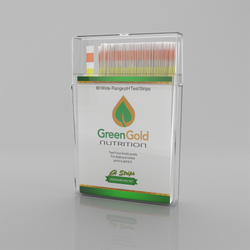 These pH Test Strips from Green Gold Nutrition give you a easy, scientific way to discover your acid/alkaline levels of urine and saliva.