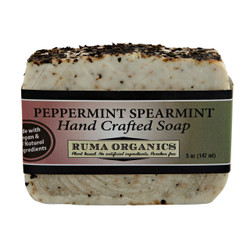 Peppermint Spearmint Hand Crafted Soap