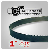 "1"" .035 - Challenger Structural Bi-Metal Band Saw Blades"