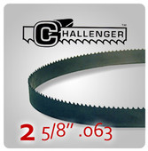 "2 5/8"" .063 - Challenger Structural Bi-Metal Band Saw Blades"