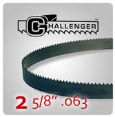 "2 5/8"" .063 - Challenger Structural Bi-Metal Band Saw Blades"