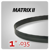 "1"" .035"" - Matrix II General Purpose Band Saw Blades"