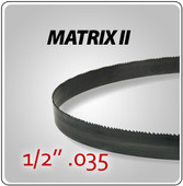 "1/2"" .035"" - Matrix II General Purpose Band Saw Blades"