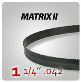 "1 1/4"" .042 - Matrix II General Purpose Band Saw Blades"
