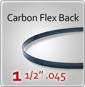 """1-1/2"""" .045 Flex Back (HEF) Carbon Blades"""