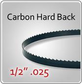 """1/2"""" .025 Hard Back (HB) Carbon Blades"""