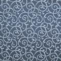 Kasmir Fabric Aldenham Navy 1382 58% Cotton 42% Polyester TAIWAN 30,000 Wyzenbeek Double Rubs H: 13 4/8 inches, V:13 4/8 inches 54 - 55 - My Fabric Connection - Kasmir