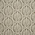 Kasmir Fabric Athenia Shell Walnut 1396 52% Rayon 48% Polyester CHINA 60,000 Wyzenbeek Double Rubs H: 14 4/8 inches, V:9 2/8 inches 58 - My Fabric Connection - Kasmir