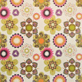Kasmir Fabric Flirt Fruit Punch 1397 100% Polyester CHINA 42,000 Wyzenbeek Double Rubs H: 28 inches, V:26 2/8 inches 56 - My Fabric Connection - Kasmir
