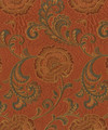 """Barrow Industries Fabric Ashbourne Shalimar M8000 2869 The New Traditional Vol. II 63% POLYESTER 37% RAYON China - H: 13-1/2"""" V: 26-1/2"""" 392 inches minimum (See sample for specs) - My Fabric Connection - Barrow Industries"""