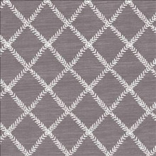 Kasmir Fabric Zipper Trail Amethyst 1449 67% Polyester 33% Cotton INDIA Not Tested H: 4 6/8 inches, V: 4 6/8 inches 53 - My Fabric Connection - Kasmir