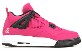 GIRLS AIR JORDAN 4 RETRO GS CHERRY (SIZE 6)