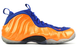 AIR FOAMPOSITE ONE KNICKS (SIZE 9.5)