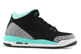 AIR JORDAN 3 RETRO GG (GS) TIFFANY (SIZE 5Y)