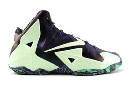 LEBRON XI (11) ALL STAR  NOLA GUMBO (PRE-OWNED) (SIZE 14)