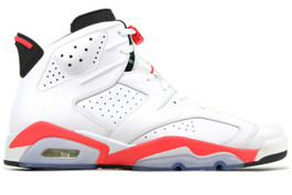 AIR JORDAN 6 RETRO WHITE INFRARED 2014 (SIZE 13.5)