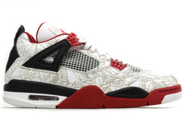 AIR JORDAN 4 RETRO WHITE LASER