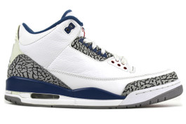 AIR JORDAN 3 RETRO TRUE BLUE 2011 (SIZE 10.5)