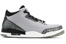 AIR JORDAN 3 RETRO WOLF GREY 2014 ( SIZE 11.5)
