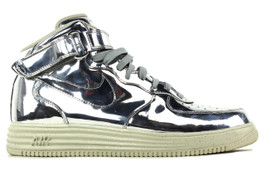 NIKE LUNAR FORCE 1 MID SP METALLIC SILVER (SIZE 11)