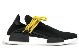 PW HUMAN RACE NMD BLK/YLW (SIZE 10.5)