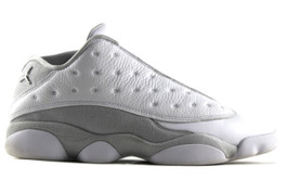 AIR JORDAN 13 RETRO LOW METALLIC SILVER (SIZE 13)