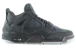 AIR JORDAN 4 RETRO KAWS BLACK (SIZE 10.5)