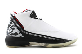 AIR JORDAN XX2 WHITE/BLACK-VARSITY RED (SIZE 9.5)